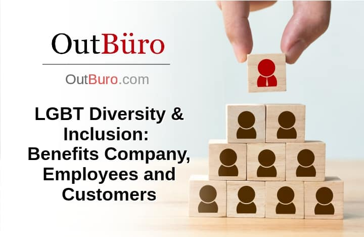LGBT Diversity And Inclusion Benefits Company Employees Customers - OutBuro Employer Reviews Gay Professional Network Lesbian Networking GLBT Recruiting Queer Bisexual Transgender