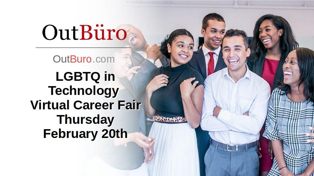 LGBTQ In Technology Career Fair – Feb 20, 2020