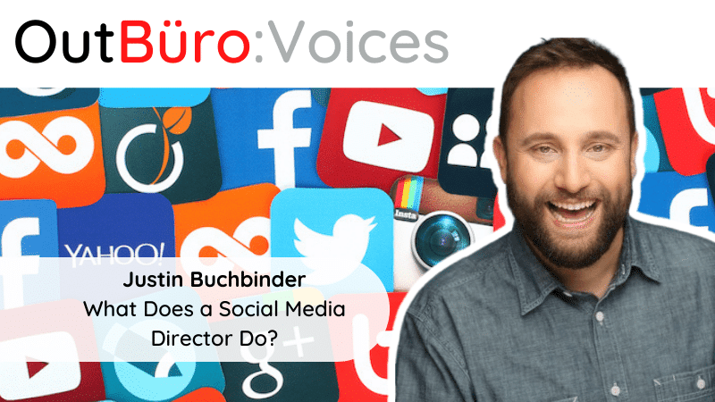 OutBuro Voices 1-14 Justin Buchbinder LGBT professional social media director finn partners