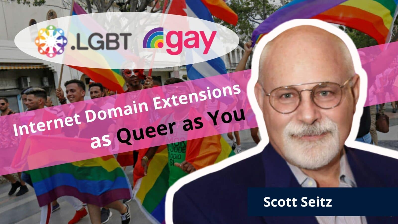 Scott Seitz PrideLife Domain Registration dot gay lgbt out gay entrepreneur lgbtq business owners lesbian queer online community OutBuro