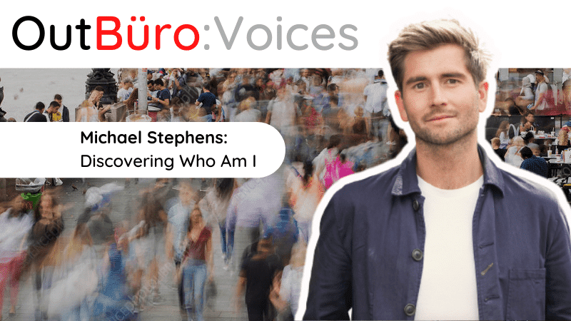 OutBuro Voices 1-44 Michael Stephens Create Space Wellbeing Retreats Mental Heath Wellness self care love yourself happiness burnout stress success
