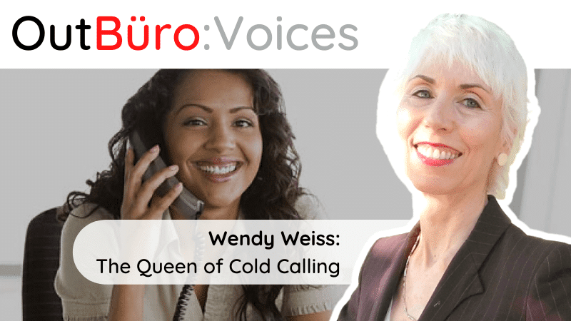 OutBuro Wendy Weiss The Queen of Cold Calling Sales professional Training defining your strategy for prospecting clients small medium business owners lgbtq entrepreneurs