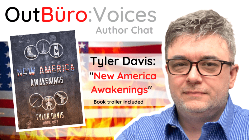 OutBuro Tyler Davis out gay author novelist book writer new america awakenings lgbt professional