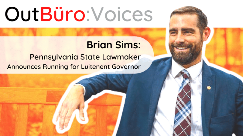 Brian Sims State Representative Pennsylvania out gay politician leader lgbtq leadership outburo lgbt professionals online community (2)