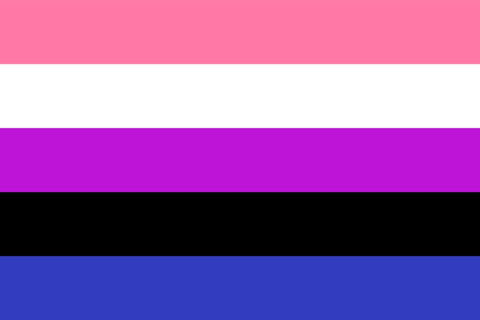 Genderfluid Genderflexible Flag pride flag lgbtq professional community groups online networking rate employers ratings company reviews outburo