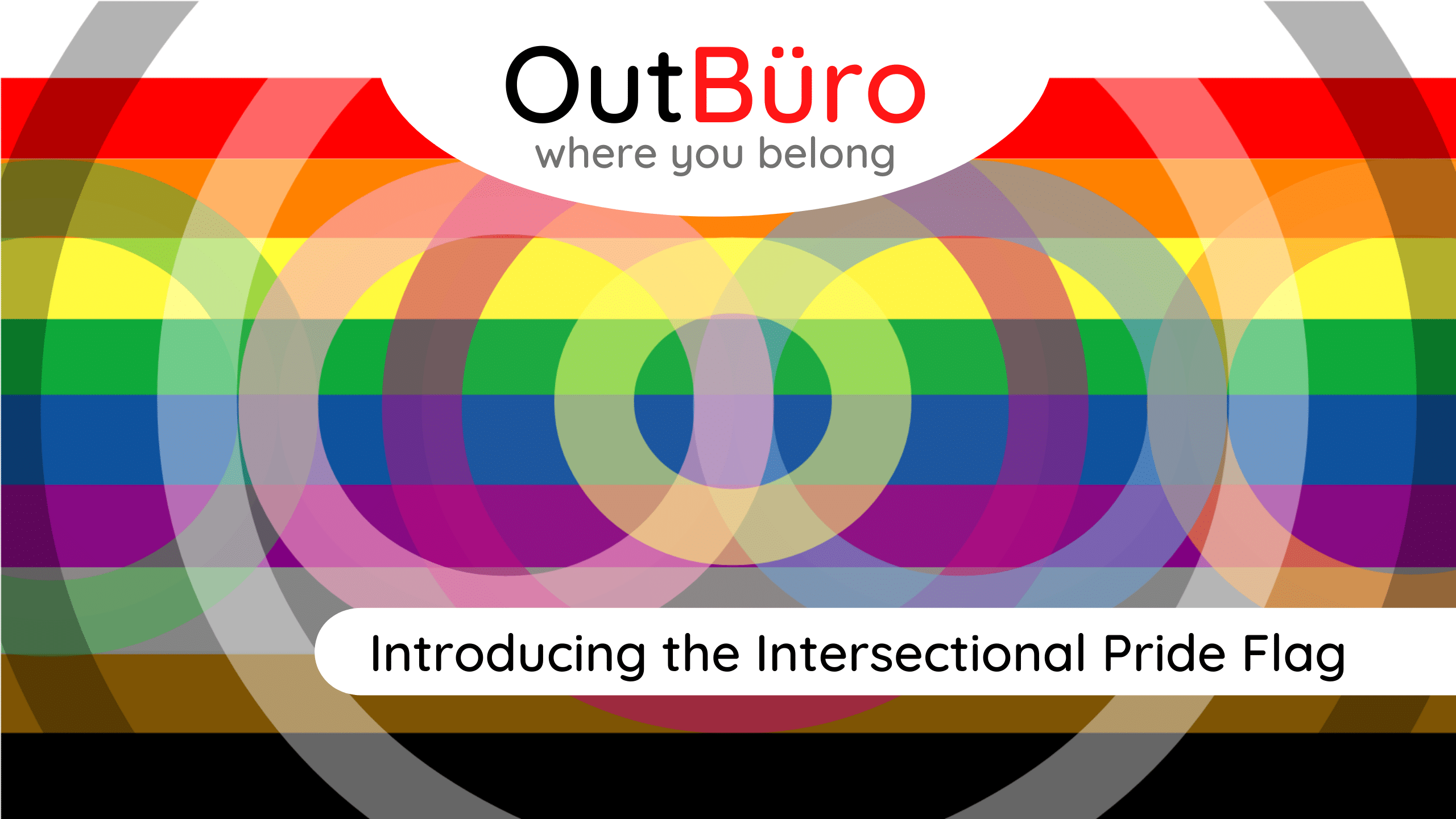 Introducing the LGBTQ Intersectional Pride Flag by Denmis Velco OutBuro founder
