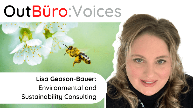 Lisa Geason-Bauer Environmental and Sustainability Consulting lesbian entrepreneur lgbt business owner vay professional bisexual trans queer network outburo dennis velco
