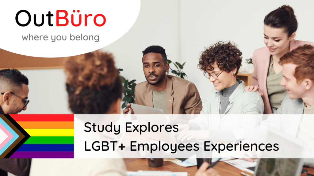 Study Explores LGBTQ Employees Experiences OutBuro professional online networking community gay lesbian bisexual transgender queer intersex asexual pansexual entrepreneurs