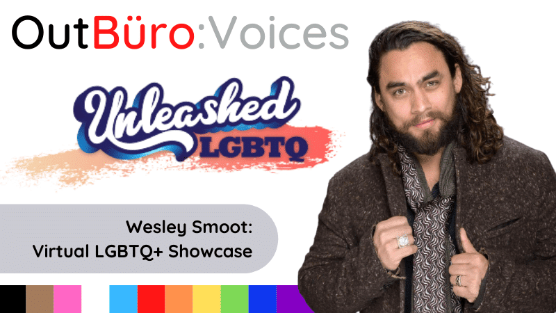 Wesley Smoot Unleashed lgbtq culture showcase speakers entertainers brand lgbt professionals entrepreneurs gay lesbian queer outburo dennis velco