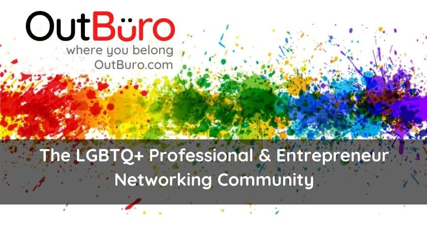 OutBuro lgbt professional entreprenuer networking online community gay lesbian transgender queer bisexual nonbinary