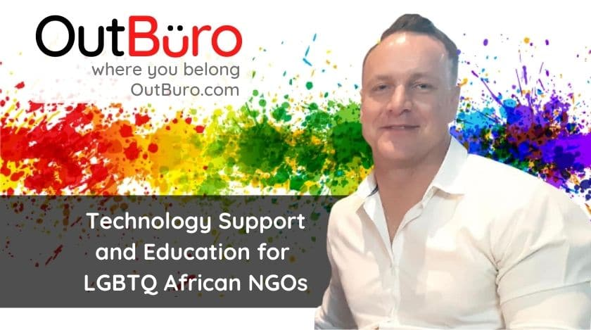 2-35 Jaco Kleynhans - Technology Support and Education for LGBTQ African NGOs lgbt professional entreprenuer networking online community gay lesbian transgender queer bisexual nonbinary