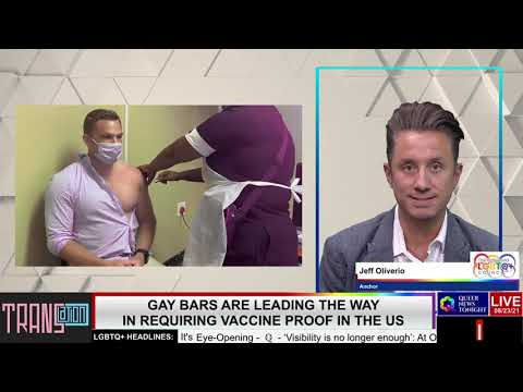 Gay Bars are Leading the Way in Requiring Vaccine Proof in the US OutBuro LGBT professional entrepreneur online networking community lesbian bisexual transgender nonbinary
