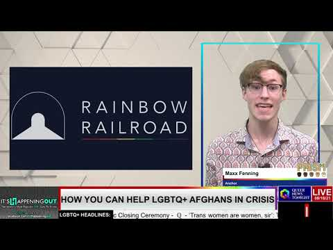 How You Can Help LGBTQ+ Afghans in Crisis OutBuro LGBTQ professional entrepreneur online networking community lesbian bisexual transgender nonbinary
