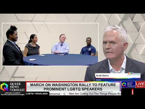 Queer News Tonight - March on Washington rally featured prominent LGBTQ speakers - OutBuro LGBTQ professional entrepreneur online networking community gay lesbian bisexual transgender