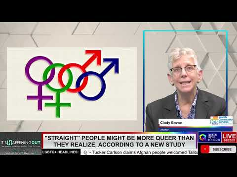 Queer News Tonight - New Study Straight People may be more Queer - OutBuro LGBTQ professional entrepreneur online networking community gay lesbian bisexual transgender nonbinary