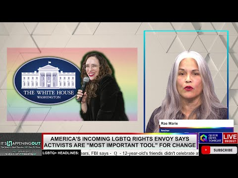 Americas Incoming LGBTQ Rights Envoy Says Activists Are Most Important Tool For Change OutBuro LGBT professional entrepreneur online networking community gay lesbian bisexual transgender nonbinary