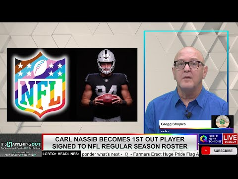 Carl Nassib Becomes 1st Out Player Signed to NFL Regular Season Roster OutBuro LGBT professional entrepreneur online networking community gay lesbian bisexual transgender nonbinary