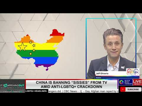 """China Is Banning """"Sissies"""" From TV Amid Anti-LGBTQ+ Crackdown OutBuro LGBT professional entrepreneur online networking community gay lesbian bisexual transgender nonbinary"""