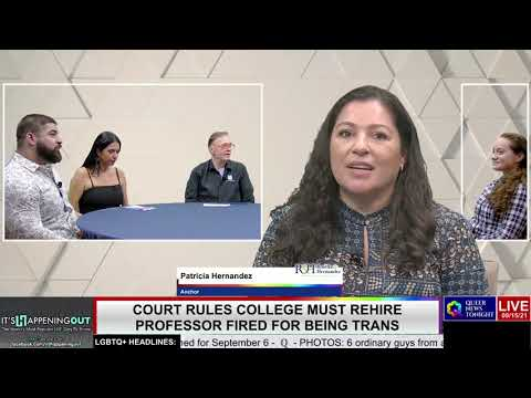 Court Rules College Must Rehire Professor Fired for Being Trans OutBuro LGBT professional entrepreneur online networking community gay lesbian bisexual transgender nonbinary 2
