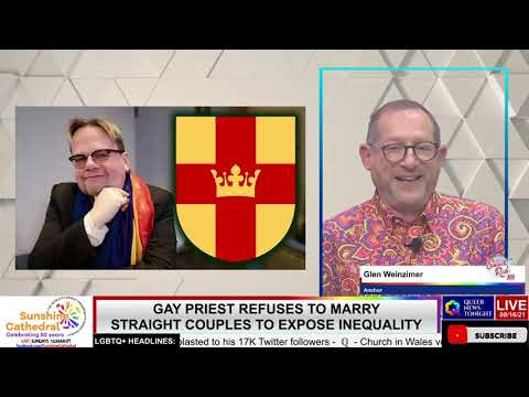 GAY PRIEST REFUSES TO MARRY STRAIGHT COUPLES TO EXPOSE INEQUALITY OutBuro LGBT professional entrepreneur online networking community gay lesbian bisexual transgender nonbinary