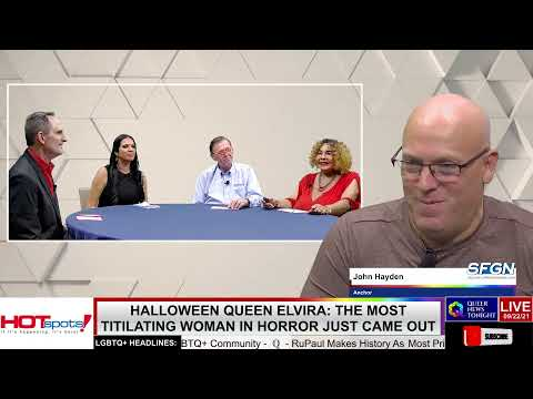 Halloween Queen Elvira The Most TITilating Woman In Horror Just Came Out OutBuro LGBT professional entrepreneur online networking community gay lesbian bisexual transgender nonbinary