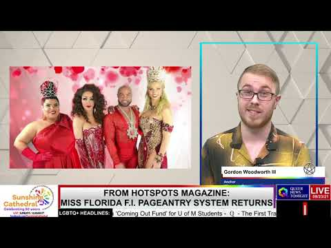 HotSpots Magazine Miss Florida Pageantry System Returns OutBuro LGBT professional entrepreneur online networking community gay lesbian bisexual transgender nonbinary