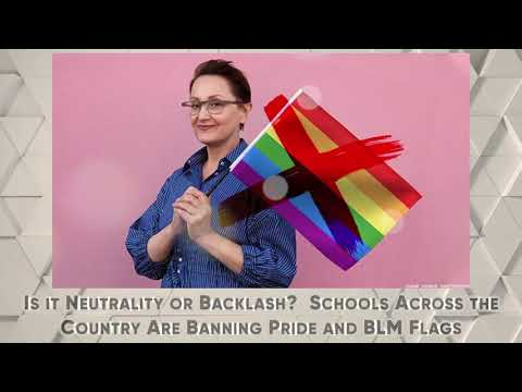 Is it Neutrality or Backlash Schools Across the Country Are Banning Pride and BLM Flags OutBuro LGBT professional entrepreneur online networking community gay lesbian bisexual transgender nonbinary