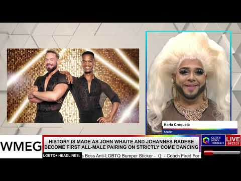 John Whaite and Johannes Radebe Become First All-Male Pairing on Strictly Come Dancing OutBuro LGBT professional entrepreneur online networking community gay lesbian bisexual transgender nonbinary
