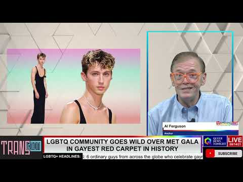 LGBTQ Community Goes Wild Over Met Gala In Gayest Red Carpet In History OutBuro LGBT professional entrepreneur online networking community gay lesbian bisexual transgender nonbinary 2