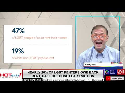 Nearly 20% of LGBT Renters Owe Back Rent, Half of Those Fear Eviction OutBuro LGBT professional entrepreneur online networking community gay lesbian bisexual transgender nonbinary