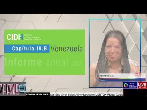 OAS commission calls for Venezuela to protect LGBTQ rights OutBuro LGBT professional entrepreneur online networking community gay lesbian bisexual transgender nonbinary