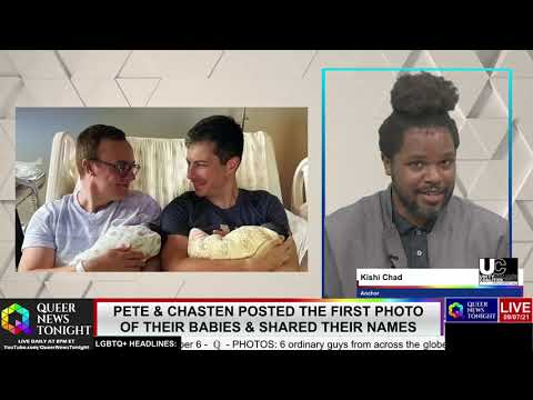 Pete Chasten Buttigieg Posted The First Photo Of Their Babies Shared Their Names OutBuro LGBT professional entrepreneur online networking community gay lesbian bisexual transgender nonbinary