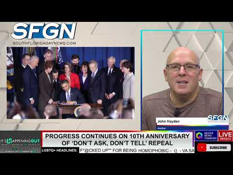 Progress Continues on 10th Anniversary of 'Don't Ask, Don't Tell' Repeal OutBuro LGBT professional entrepreneur online networking community gay lesbian bisexual transgender nonbinary