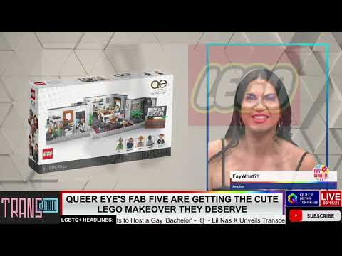 Queer Eye's Fab Five Are Getting the Cute Lego Makeover They Deserve OutBuro LGBT professional entrepreneur online networking community gay lesbian bisexual transgender nonbinary 2