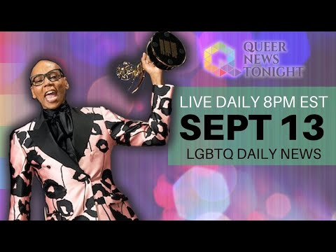 Queer News Tonight Sep 13 2021 OutBuro LGBT professional entrepreneur online networking community gay lesbian bisexual transgender nonbinary