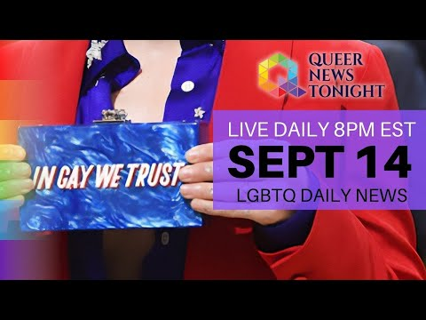 Queer News Tonight Sep 14 2021 OutBuro LGBT professional entrepreneur online networking community gay lesbian bisexual transgender nonbinary