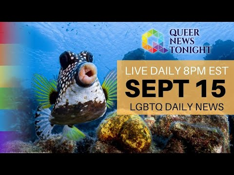 Queer News Tonight Sep 15 2021 OutBuro LGBT professional entrepreneur online networking community gay lesbian bisexual transgender nonbinary