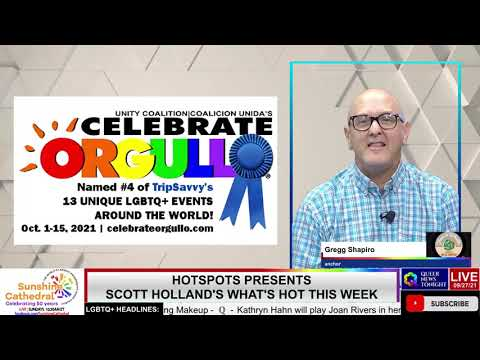 Queer News Tonight Sep 28 2021 OutBuro LGBT professional entrepreneur online networking community gay lesbian bisexual transgender nonbinary