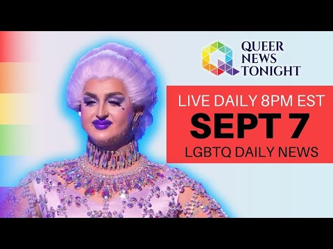 Queer News Tonight Sept 7 2021 OutBuro LGBT professional entrepreneur online networking community gay lesbian bisexual transgender nonbinary