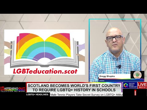 Scotland Becomes World's First Country To Require LGBTQ+ History In Schools OutBuro LGBT professional entrepreneur online networking community gay lesbian bisexual transgender nonbinary