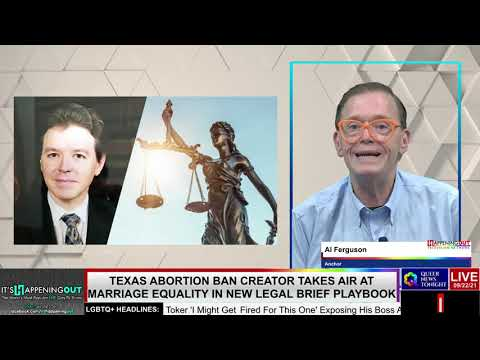 Texas Abortion Ban Creator Takes Aim At Marriage Equality In New Legal Brief Playbook OutBuro LGBT professional entrepreneur online networking community gay lesbian bisexual transgender nonbinary