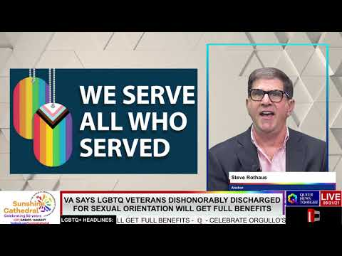 VA Says LGBTQ Veterans Dishonorably Discharged For Sexual Orientation Will Get Full Benefits OutBuro LGBT professional entrepreneur online networking community gay lesbian bisexual transgender nonbinary