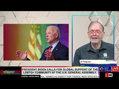 resident Biden calls for global support of the LGBTQ+ Community at the UN General Assembly OutBuro LGBT professional entrepreneur online networking community gay lesbian bisexual transgender nonbinary