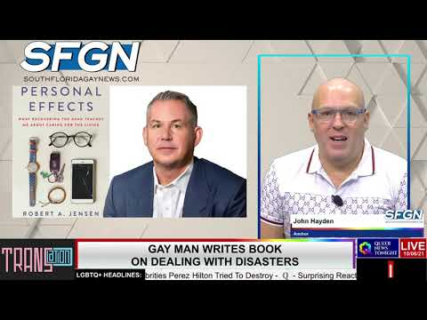 Gay Man Writes Book on Dealing with Disasters OutBuro LGBT professional entrepreneur online networking community gay lesbian bisexual transgender nonbinary