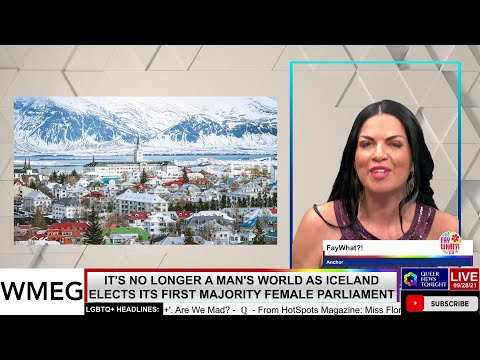 It's No Longer A Mans World As Iceland Elects Its First Majority Female Parliament OutBuro LGBT professional entrepreneur online networking community gay lesbian bisexual transgender nonbinary