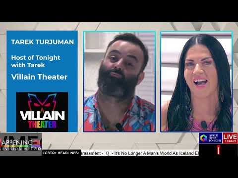 Queer News Tonight Oct 4 2021 OutBuro LGBT professional entrepreneur online networking community gay lesbian bisexual transgender nonbinary