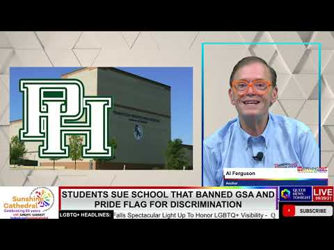 Students Sue School That Banned GSA and Pride Flag For Discrimination OutBuro LGBT professional entrepreneur online networking community gay lesbian bisexual transgender nonbinary