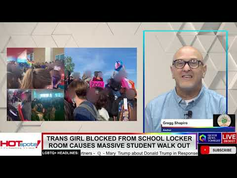 Trans Girl Blocked From School Locker Room Causes Massive Student Walk Out OutBuro LGBT professional entrepreneur online networking community gay lesbian bisexual transgender